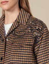 Karierte Oversize-Hemdjacke : Blousons & Jacken farbe Bunt