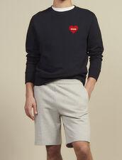 Shorts Aus Jersey : Hosen & Shorts farbe Grau Meliert