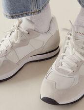 Running Sneaker : Sommerkollektion farbe Weiß