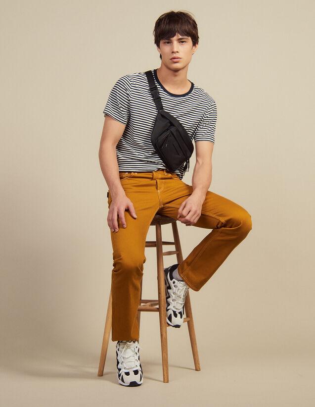 Hose Aus Baumwolltoile : Hosen & Shorts farbe Ocker