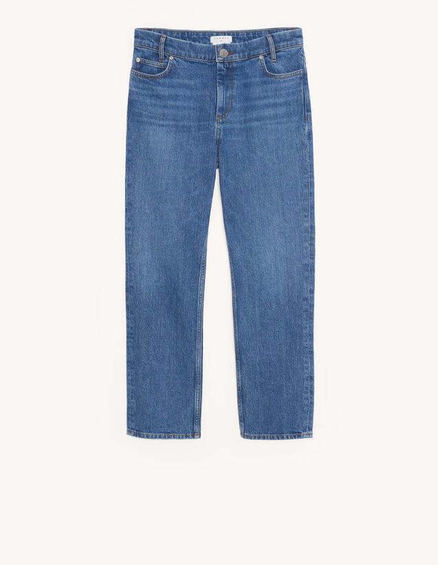 Stretch-Jeans mit fünf Taschen : Jeans farbe Bleached - Denim