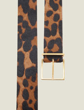 Ledergürtel In Pony-Optik Mit Print : Die ganze Winterkollektion farbe Leopard
