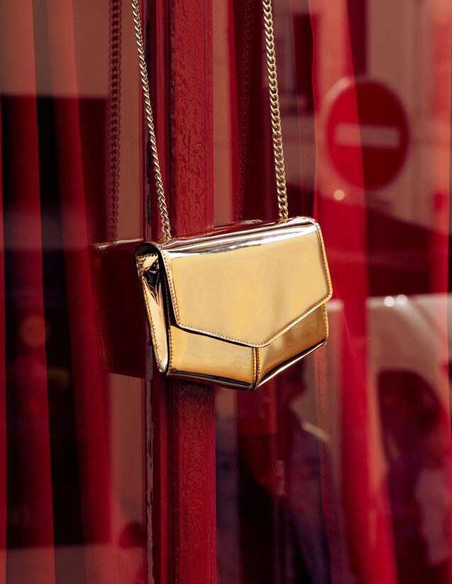 Lou Tasche, Kleines Modell : Sommer Kollektion farbe Gold