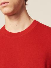Dünner Pullover Mit Zierstich : Pullovers & Cardigans farbe Rot