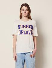 T-Shirt Mit Passen An Den Schultern : null farbe Weiß