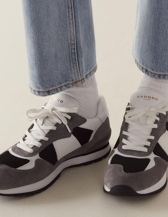 Running Sneaker : Sommerkollektion farbe Grau