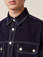 Jackenhemd Aus Denim : LastChance-RE-HSelection-Pap&Access farbe Blue Night - Denim