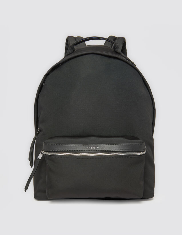Rucksack aus technischem Gewebe : Alle Lederwaren farbe Schwarz