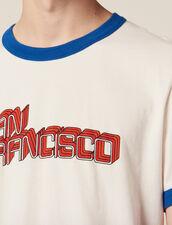 T-Shirt Mit Schriftzug : LastChance-RE-HSelection-Pap&Access farbe Weiß