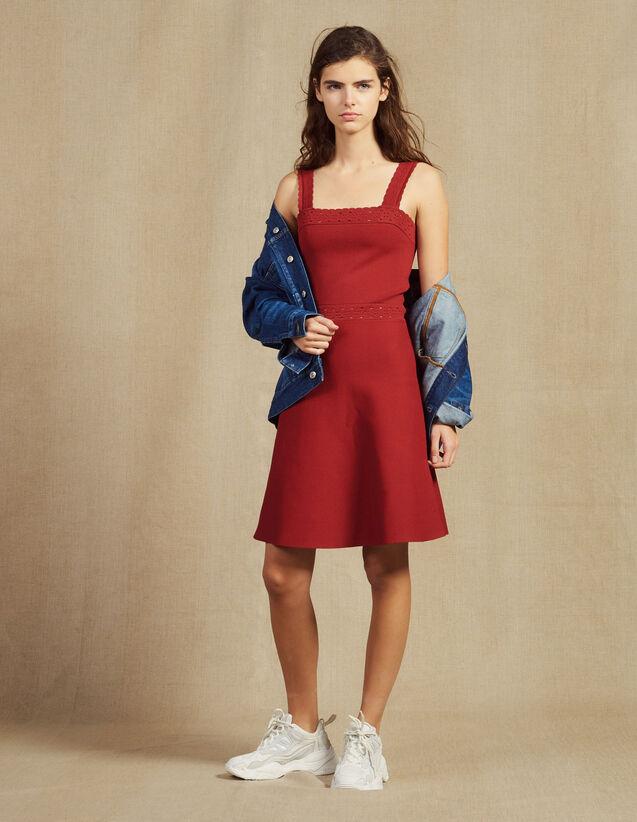 Strickkleid Mit Trägern : Kleider farbe Terrakotta