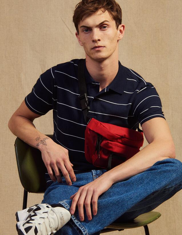 Poloshirt Aus Baumwoll-Piqué : T-Shirts & Polos farbe Weiß