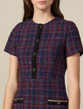 Kurzes Tweedkleid : Kleider farbe Bunt