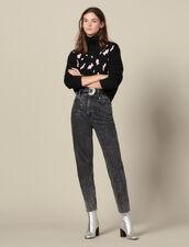 Pullover Mit Leopardenflecken : Pullover & Cardigans farbe Schwarz