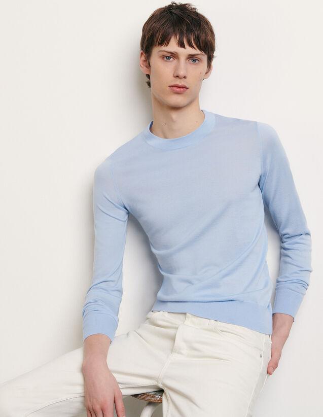 Pullover aus Merinowolle : Pullovers & Cardigans farbe Marine
