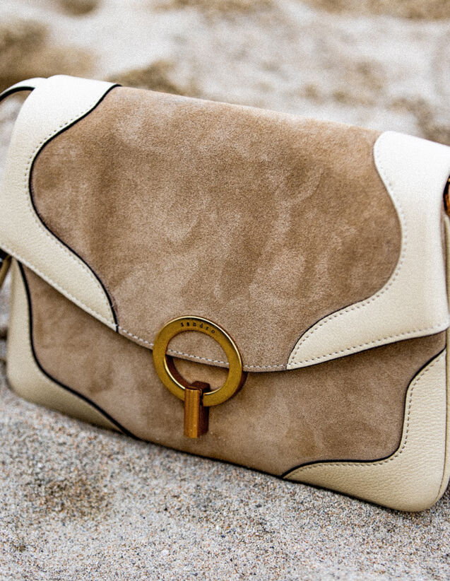 Sybille Tasche, Kleines Modell : Sommer Kollektion farbe Beige