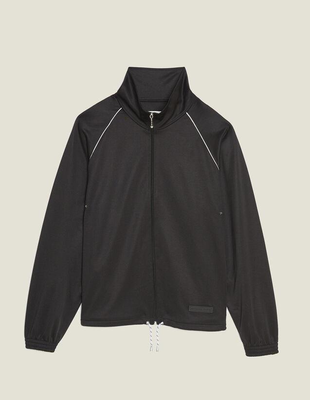 Joggingjacke : Sweatshirts farbe Schwarz