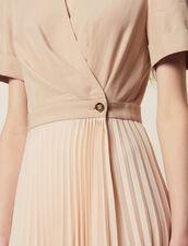 Wickelkleid Mit 2-In-1-Effekt : Kleider farbe Hautfarbe
