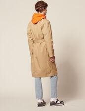 Langer Trenchcoat Aus Baumwolle : Trench & Mäntel farbe Beige