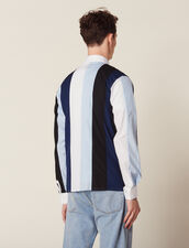Mehrfarbig Gestreiftes Hemd : SOLDES-CH-HSelection-PAP&ACCESS-2DEM farbe Blau