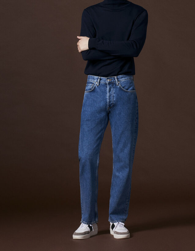 Blaue Jeans mit geradem Schnitt : Jede Auswahl farbe Blue Vintage - Denim