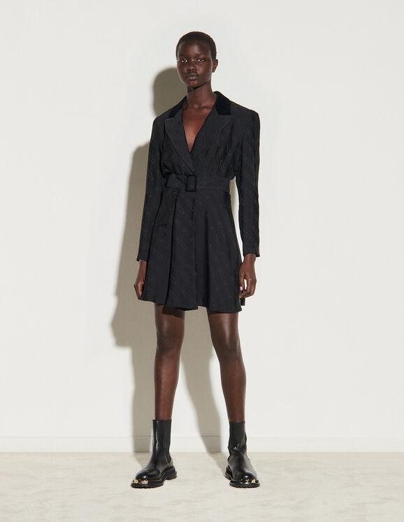 Kurzes Kleid im Blazer-Stil SFPRO01387 - Kleider | Sandro ...