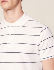 Poloshirt Aus Baumwoll-Piqué : Sélection Last Chance farbe Weiß