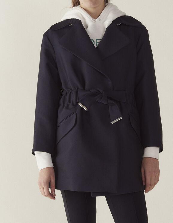 Mantel Im Trenchcoat-Stil : Jede Auswahl farbe Marine