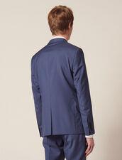 Anzugsakko Aus Wolle : LastChance-FR-H50 farbe Blaugrau