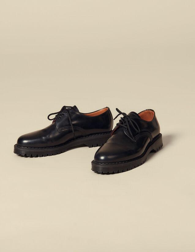 Derby-Schuhe Mit Spikes : Schuhe farbe Schwarz