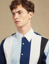 Mehrfarbig Gestreiftes Hemd : Sélection Last Chance farbe Blau