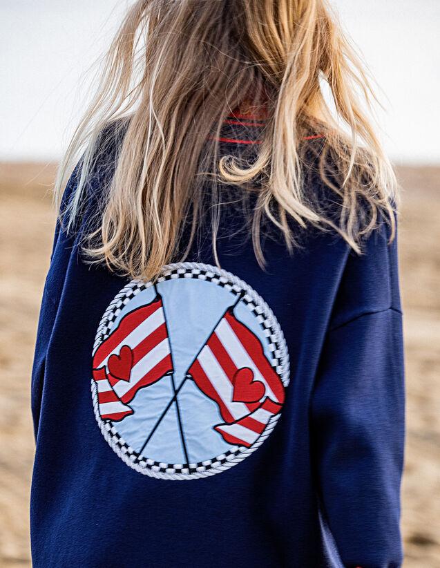 Cardigan Mit Stickerei Am Rücken : Pullover & Cardigans farbe Marine