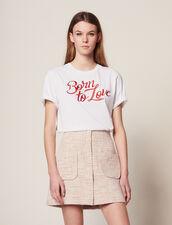 Kurzer Tweedrock : Röcke & Shorts farbe Rosa