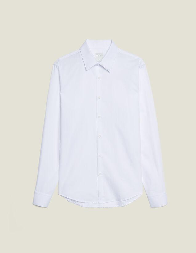 Formelles Hemd Aus Oxford-Gewebe : Hemden farbe Weiß