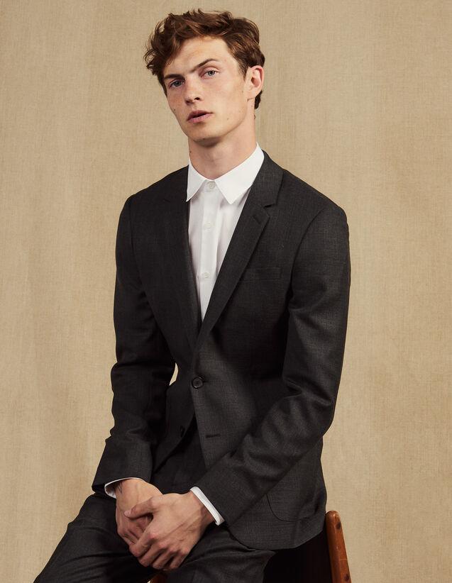 Anzugsakko : Anzüge & Smokings farbe Grau Meliert
