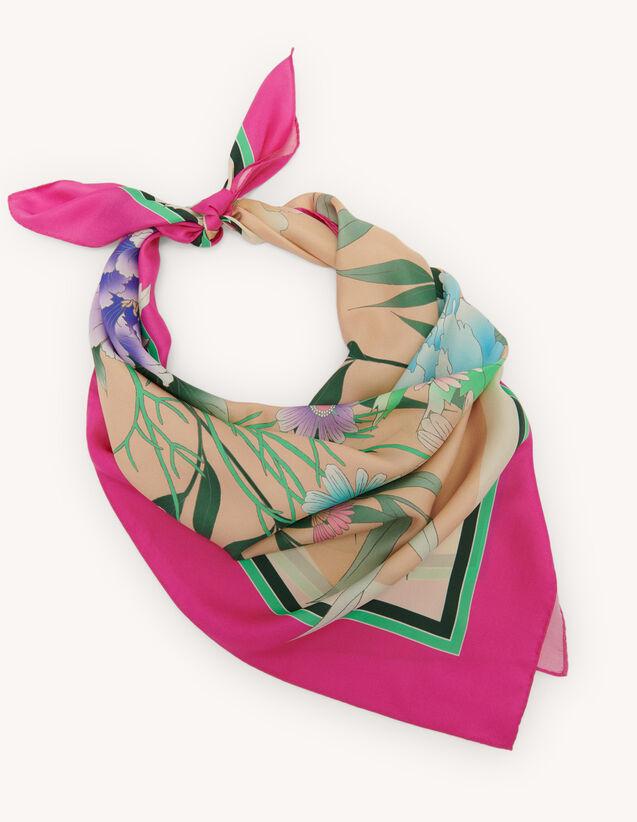 Halstuch aus Seide : Scarves farbe Fuchsia