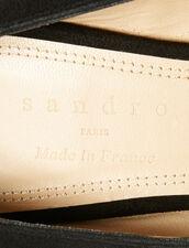 Pumps Mit V-Ausschnitt : Schuhe farbe Schwarz