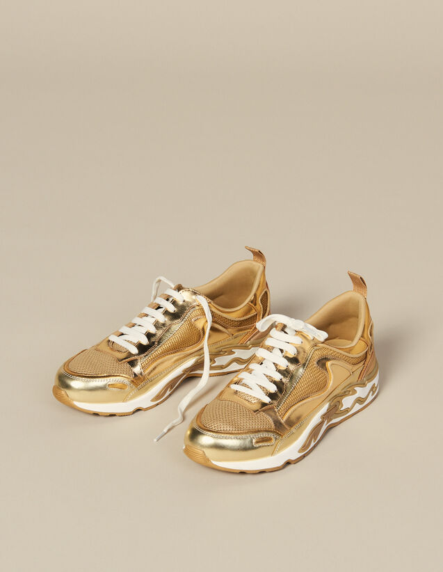Flame Sneaker : New In farbe Full Gold