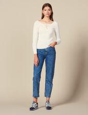 Pullover Mit Geschnürtem Ausschnitt : FBlackFriday-FR-FSelection-30 farbe Weiß