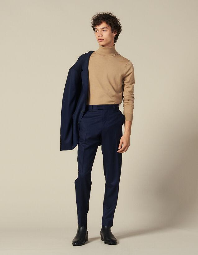 Anzughose Aus Wolle : Anzüge & Smokings farbe Marine