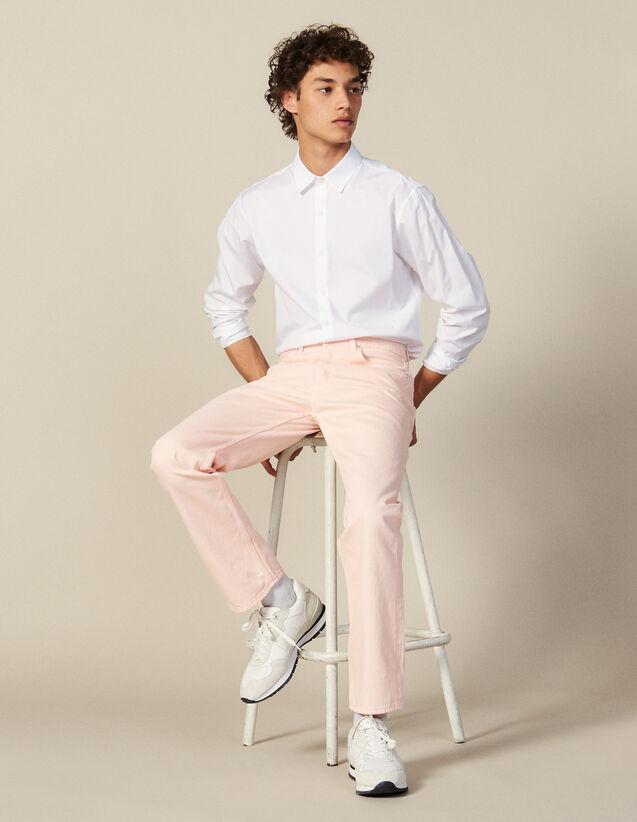 Gerade Jeans Aus Baumwolltoile : LastChance-CH-HSelection-Pap&Access farbe Rosa