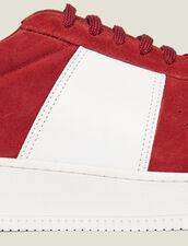 Sneaker Aus Leder : Kofferpacken für den Sommer farbe Rot