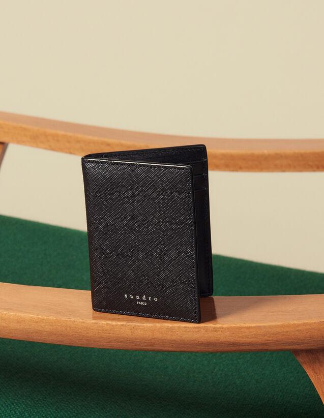 Brieftasche Aus Saffiano-Leder : Kartenhalter & Brieftaschen farbe Schwarz