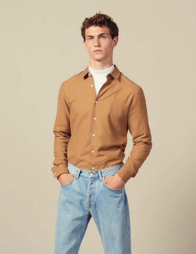 Flanellhemd : Hemden farbe Ecru