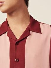 Fließendes Kurzarmhemd : LastChance-RE-HSelection-Pap&Access farbe Bordeaux