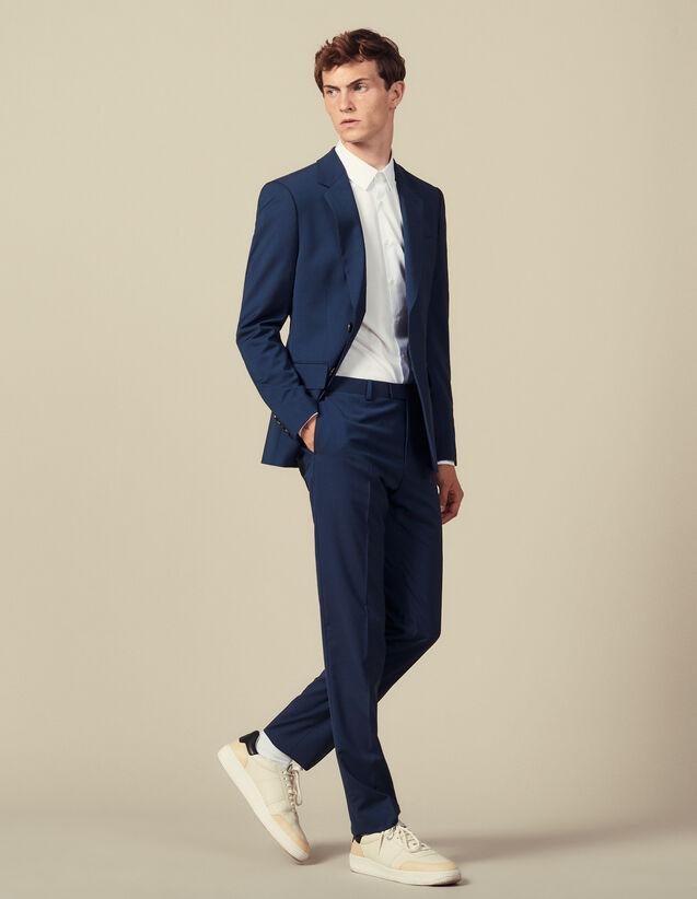 Klassische Super 110 Anzughose : Winterkollektion farbe Pétrole