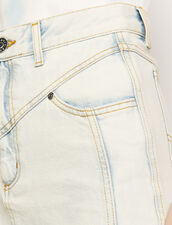 Neige verwaschener Jeansrock : Röcke & Shorts farbe Blue Vintage - Denim