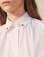 Hemdbluse Mit Zierknöpfen Am Kragen : Tops & Hemden farbe Rosa
