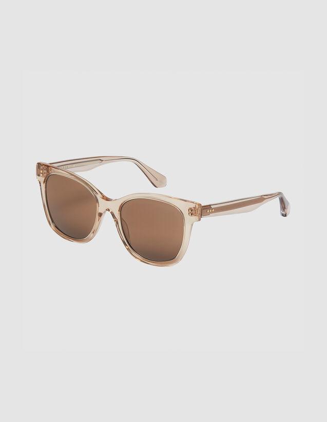Oversize-Brille : Die ganze Winterkollektion farbe Tabak