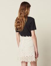 Kurzer Spitzenrock : Röcke & Shorts farbe Nude