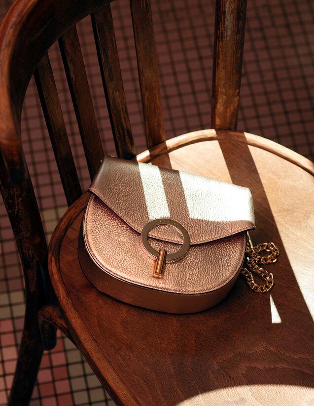 Pépita Tasche, Kleines Modell : Sommer Kollektion farbe Gold